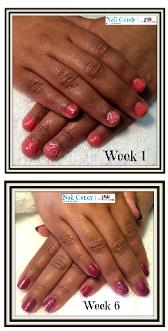 healthy nails, nail biter, cnd shellac, gel ii, milton keynes, pure organics, manicure, pedicure, luxury treatment